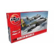 Airfix kit constructie avion gloster meteor f8