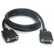 E-GREEN Kabl VGA D-sub MM 5m crni