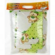 Бебешки спален комплект LITTLE GREEN BEAR - 100% Памук