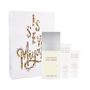 Issey Miyake L´Eau D´Issey Pour Homme confezione regalo Eau de Toilette 125 ml + 75 ml doccia gel + 50 ml balsamo dopobarba per uomo