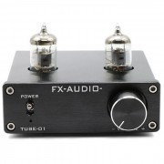 Feixiang TUBE-01 buffer de tubo 6J1 pre-amplificador de alta fidelidad - negro