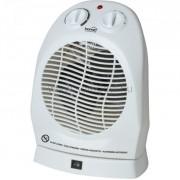 HOME elektromos, álló, ventilátoros fűtőtest, fehér színben, max 2000 W teljesítménnyel, mechanikus termosztáttal, IP20 védelemmel, kapcsolható oszcillálás (90°) HOME (FK 1/O)