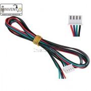 Invento 5pcs 0.25 mtr Nema 17 6pin XH2.54 to 4 wire connector stepper motor 3d printer