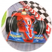 Geen Formule 1 bordjes 6 stuks