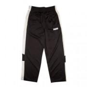 Pantaloni de trening Puma cu logo imprimat pentru copii Alb/Negru