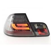 FK-Automotive luci posteriori LED BMW serie 3 E46 Coupe anno di costr. 99-02 nero