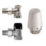 Set robineti cu cap termostatic si retur 1/2 Honeywell Thera 4