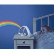 Regenboog nachtlamp