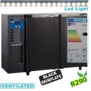 Diamond Refroidisseur de Bouteilles éclairage LED 2 portes 375 litres 1455x565x890/905 mm