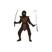 Barna ninja jelmez 158-as méret