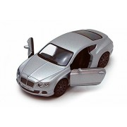 Kinsmart 1:38 Scale 2012 Bentley Continental GT Speed, Silver