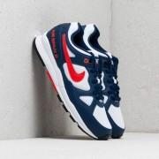Nike Air Span II Blue Void/ Habanero Red-White-Black