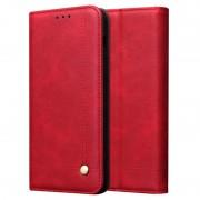 Capa Tipo Carteira Retro para iPhone 11 - Vermelho