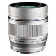 Olympus 75mm f/1.8 ed m.zuiko - argento - 2 anni di garanzia