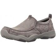 Skechers USA Men s Larson Berto Slip-On Loafer Gray Canvas 10 D(M) US