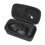 Omguuef Teclado ratón inalámbrico Bolsa de Almacenamiento EVA Ratón Ratón Ratón multifunción Bolsa de Almacenamiento Digital de Logitech G903 / G900 ratón (Negro) Nueva Bluetooth (Color : Black)