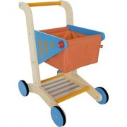 Hape - Playfully Delicious - Wooden Shopping Cart