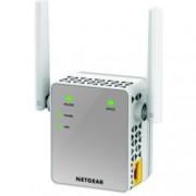 Extender/Екстендър, Netgear EX3700, AC750 DUAL BAND (300 Mbps+450 Mbps), 1 x 10/100 Port, 2x външни антени, Wireless-AC
