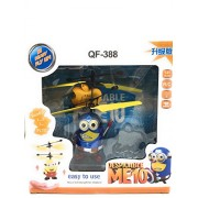 FunBlast™ Flying Minion USB Rechargeable, Remote Control Helicopter Toy,IR Controlled Censor Aircraft Toy Flying Minion(Random Color Dispatch)