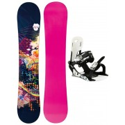 Placa snowboard dama TRANS LTD cu legatura 146 cm