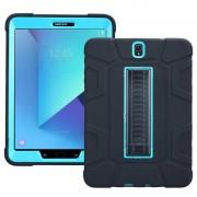 Samsung Galaxy Tab S3 9.7 Rugged Kickstand Case - Blue / Black