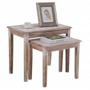 CARO-Möbel Beistelltisch RILEY 2er Set