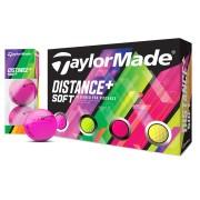 【TaylorMade Golf/テーラーメイドゴルフ】ディスタンス+ ソフト マルチカラー ボール /