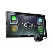 Autoestereo Con Pantalla JVC KW-V840BT + Cam Rev CD/DVD Apple Carplay