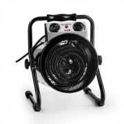 Waldbeck Strato incalzitor pentru seră, ventilator electric cu 2000W, IPX4 Termostat incl. Argintiu / negru (HHG7-Strato)