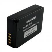 Ismartdigi LP-E12 bateria de la camara de 7.4V 1200mAh para el canon EOS M M2 M10 100D - blanco + negro