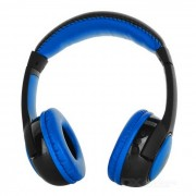 VYKON S99 Auriculares Bluetooth con auriculares con TF - Azul + Negro