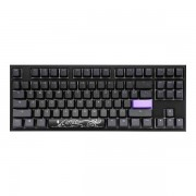 Ducky One 2 RBG DS PBT Brown Cherry MX Mechanical Keyboard - Black/White (DK-DKON1787ST-BUSPDAZT1) (US Layout)