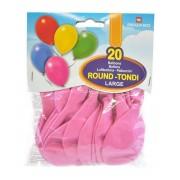 Pegaso palloncini large 20 pezzi rosa