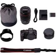 Canon »EOS RP Gehäuse + RF 24-105mm f4 L IS USM + Bajonettadapter EF-EOS R« Systemkamera (RF 24-105mm f4 L IS USM, 26,2 MP, WLAN (Wi-Fi), Bluetooth)