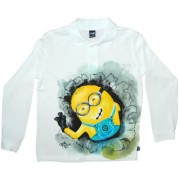Tricou baieti pictat manual, 10 ani, Minion