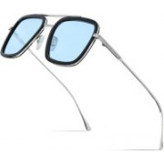 US ARMANI Rectangular Sunglasses(Blue)