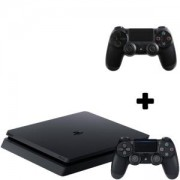 Конзола PlayStation 4 Slim 500GB Black, Sony PS4+Геймпад - Sony PlayStation DualShock 4 Wireless
