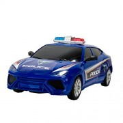 Police Elite High Speed Power Chase Friction Police Car (Blue)