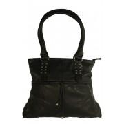 Bertha Black střední dámská kabelka černá
