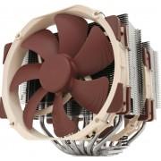 NOCTUA NH-D15 - Koeler voor processor - (voor: LGA1156, AM2, AM2+, AM3, LGA1155, AM3+, LGA2011, FM1, FM2, LGA1150, FM2+, LGA1151, LGA2011-3 (Square ILM), AM4, LGA2066, LGA1200) - aluminium met koperen basis - 140 mm
