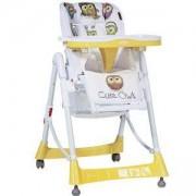 Столче за хранене Primo, Lorelli, Yellow Cute Owls, 0740238
