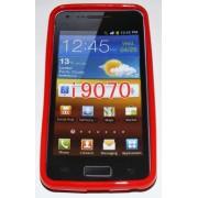 Силиконов гръб ТПУ за Samsung I9070 Galaxy S Advance Червен