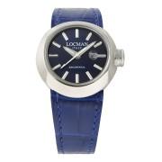 【66%OFF】ラウンドウォッチ デイト表示 取替ベルト付 ケース:ブルー ベルト:ブルー、ホワイト ファッション > 腕時計~~メンズ 腕時計