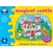 Puzzle De Podea - Castelul Magic (40 Piese) - Orchard Toys (263)