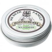 Mr Bear Family Wilderness cera para bigode 30 ml