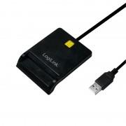Čitač Smart kartica, USB 2.0, crni