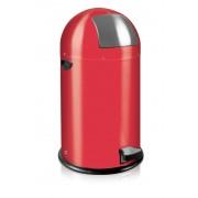 Кош за отпадъци с педал Eko Kick Can, 33 л - червен