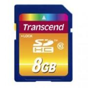 Transcend Scheda di memoria SDHC Transcend TS8G10 8Gb Classe 10