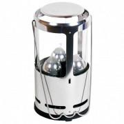 UCO Candlelier Alu Lampada a candela campeggio grigio/nero/bianco