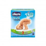 Chicco Pañales Dry Fit Midi Talla 3 4-9 Kg 21uds